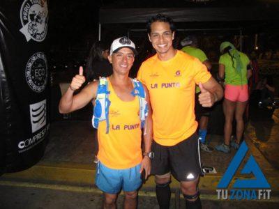 Manuel Capristán y Edurdo Salazar - Podio en el II UTT
