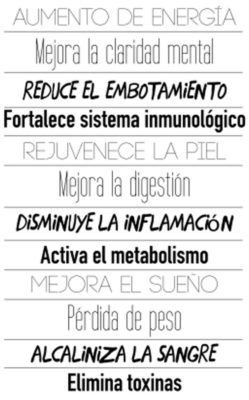 Beneficios del FIX Detox
