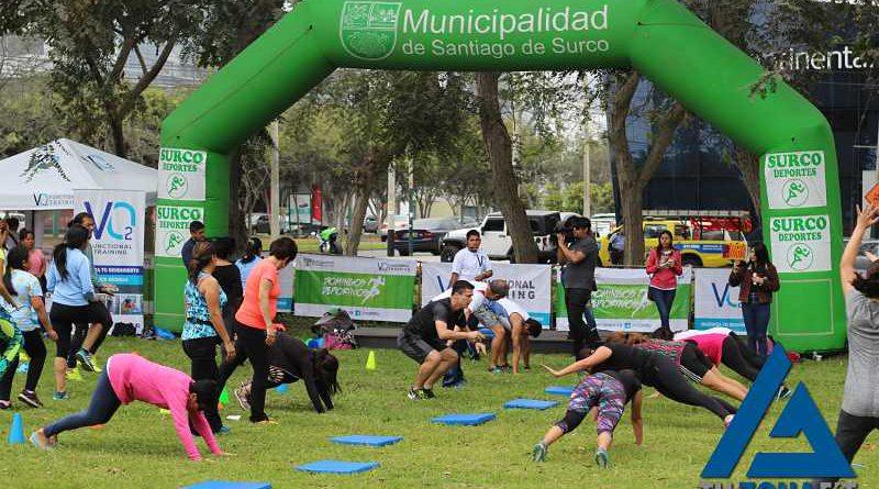 VO2 y la Municipalidad de Surco activaron la ciudad con su primer domingo deportivo