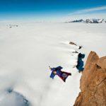 Ruso Valery Rosov realizó salto histórico desde el Huascarán