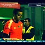 Argelia: Portero imita la ruleta de Zidane en el área chica