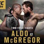 MMA: UFC 194 José Aldo vs Conor McGregor lo más esperado al cierre del año