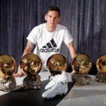 Fútbol: Nuevas Adidas Platinum Messi 15 Cleats