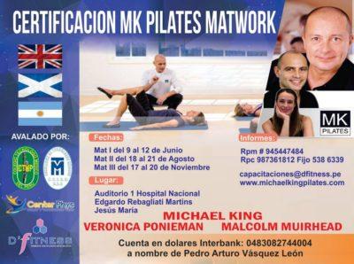 Certificación MK Pilates Matwork