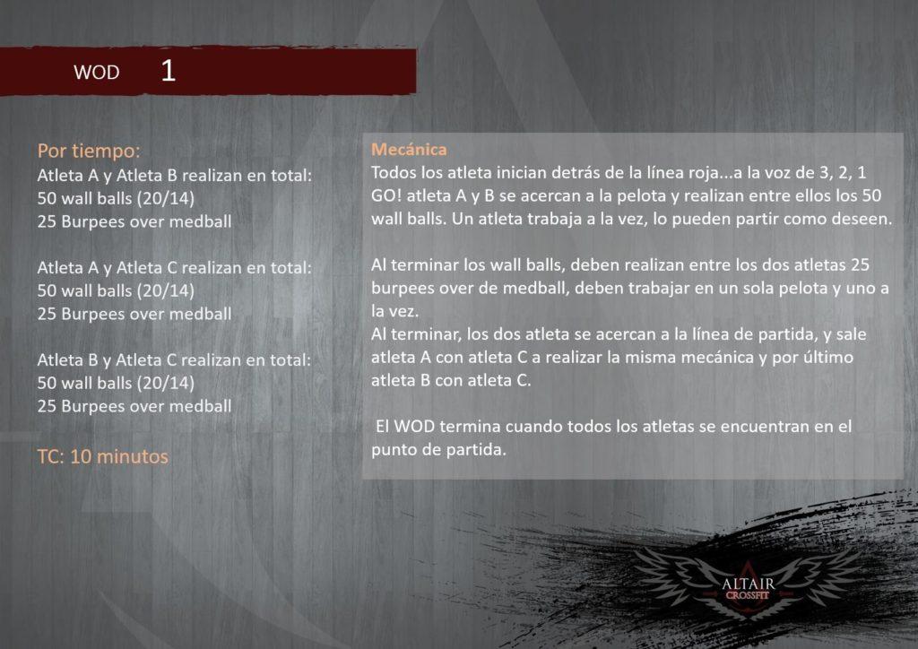 Game of Wods - Altair Crossfit
