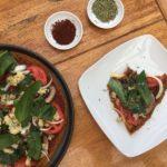 Receta: Pizza Saludable con masa de camote, coliflor y levadura nutricional