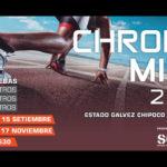 Chrono Mile 2018 se iniciará este 15 de Septiembre