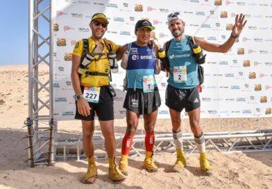 Remigio Huaman es ganador absoluto en el Half Marathon Des Sables Fuerteventura 2018
