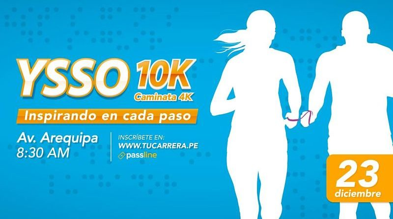 Carrera YSSO 10K y Caminata 4K