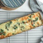 Receta: Quiche de espinaca y queso con crust de avena