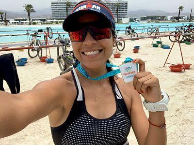 Triatlón Cross La Jolla 2020. Por Mabeli Tamayo