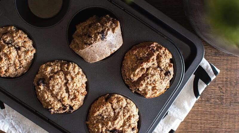 Receta: Muffins de Manzana Saludables