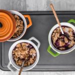 Receta: Blueberry Crumble – Sin azúcar – Sin harina