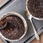 Receta: Cake de proteína al microondas